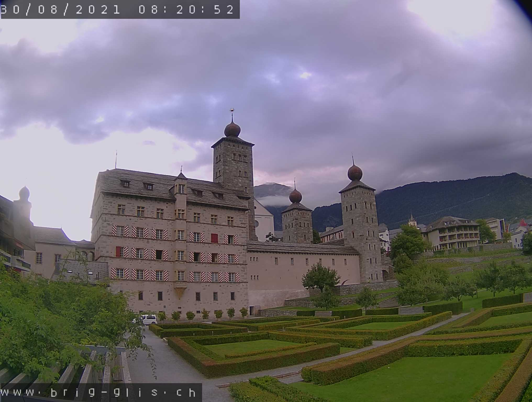 Brig-Glis – Stockalperschloss Webcam Live